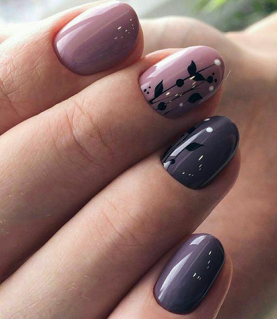 маникюр весна 2019 топ 30 идей интересного дизайна ногтей