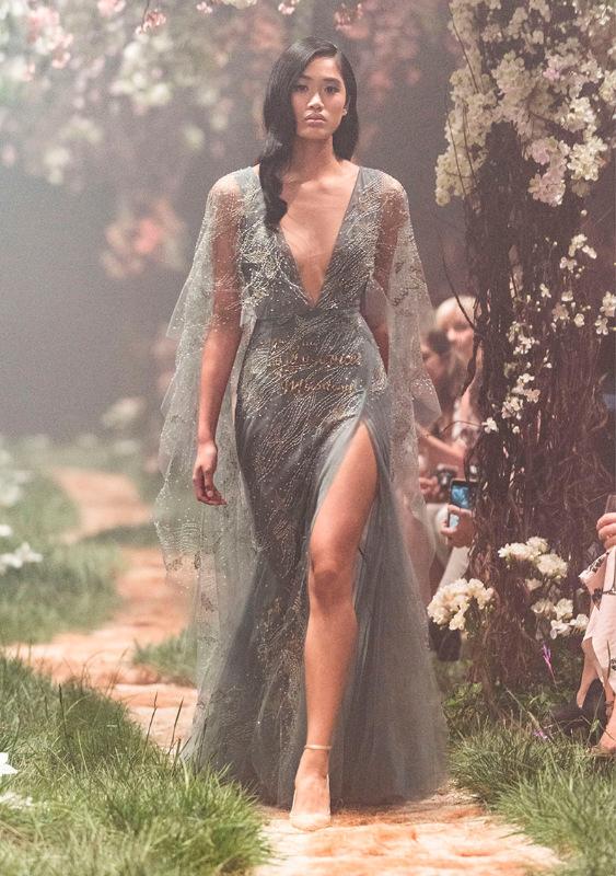 Единение с природой - невероятная коллекция платьев